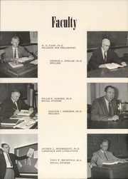 Page 13, 1959 Edition, William Penn University - Quaker Yearbook (Oskaloosa, IA) online yearbook collection
