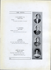 Page 14, 1909 Edition, University of North Texas - Yucca Yearbook (Denton, TX) online yearbook collection