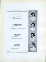 Page 16, 1909 Edition, University of North Texas - Yucca Yearbook (Denton, TX) online yearbook collection