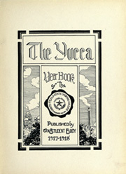 Page 7, 1918 Edition, University of North Texas - Yucca Yearbook (Denton, TX) online yearbook collection