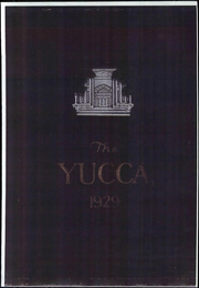 University of North Texas - Yucca Yearbook (Denton, TX) online yearbook collection, 1929 Edition, Page 1