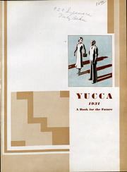 Page 4, 1931 Edition, University of North Texas - Yucca Yearbook (Denton, TX) online yearbook collection