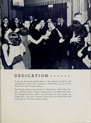 Page 7, 1937 Edition, University of North Texas - Yucca Yearbook (Denton, TX) online yearbook collection