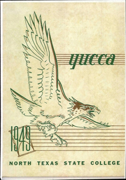 University of North Texas - Yucca Yearbook (Denton, TX) online yearbook collection, 1949 Edition, Page 1