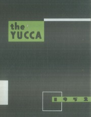 Page 1, 1952 Edition, University of North Texas - Yucca Yearbook (Denton, TX) online yearbook collection
