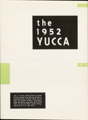 Page 6, 1952 Edition, University of North Texas - Yucca Yearbook (Denton, TX) online yearbook collection