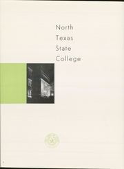 Page 8, 1952 Edition, University of North Texas - Yucca Yearbook (Denton, TX) online yearbook collection