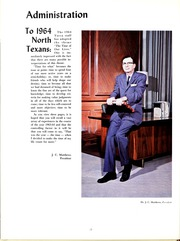 Page 16, 1964 Edition, University of North Texas - Yucca Yearbook (Denton, TX) online yearbook collection