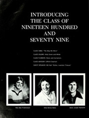 Page 8, 1979 Edition, Troy High School - Trojan Torch Yearbook (Troy, ID) online yearbook collection