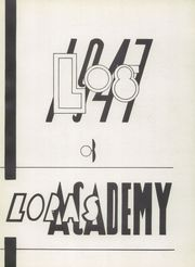 Page 7, 1947 Edition, Loras Academy - Log Yearbook (Dubuque, IA) online yearbook collection