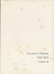 Page 5, 1957 Edition, University of Dubuque - Key Yearbook (Dubuque, IA) online yearbook collection
