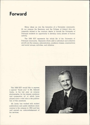 Page 6, 1958 Edition, University of Dubuque - Key Yearbook (Dubuque, IA) online yearbook collection