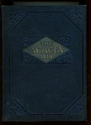 Page 1, 1929 Edition, Graceland University - Acacia Yearbook (Lamoni, IA) online yearbook collection