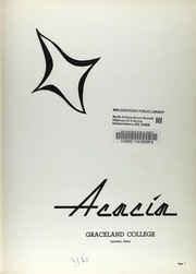 Page 6, 1960 Edition, Graceland University - Acacia Yearbook (Lamoni, IA) online yearbook collection