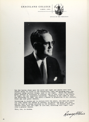 Page 37, 1962 Edition, Graceland University - Acacia Yearbook (Lamoni, IA) online yearbook collection