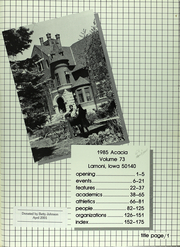 Page 6, 1985 Edition, Graceland University - Acacia Yearbook (Lamoni, IA) online yearbook collection