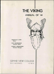 Page 7, 1949 Edition, Grand View University - Viking Yearbook (Des Moines, IA) online yearbook collection