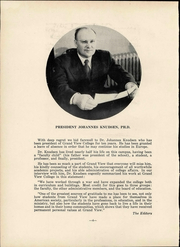 Page 10, 1952 Edition, Grand View University - Viking Yearbook (Des Moines, IA) online yearbook collection