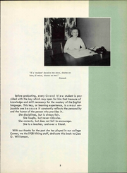 Page 11, 1958 Edition, Grand View University - Viking Yearbook (Des Moines, IA) online yearbook collection