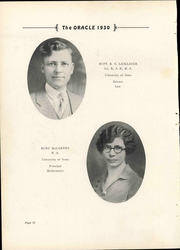 Page 16, 1930 Edition, Dysart High School - Oracle Yearbook (Dysart, IA) online yearbook collection