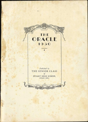 Page 7, 1930 Edition, Dysart High School - Oracle Yearbook (Dysart, IA) online yearbook collection