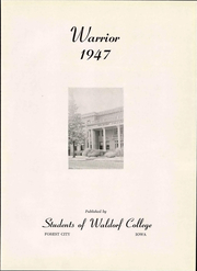 Page 11, 1947 Edition, Waldorf College - Warrior Yearbook (Forest City, IA) online yearbook collection