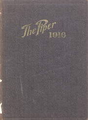 1916 Edition, Highland Park College - Piper Yearbook (Des Moines, IA)