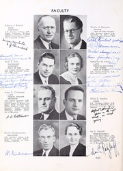 Page 12, 1938 Edition, Wartburg College - Fortress Yearbook (Waverly, IA) online yearbook collection