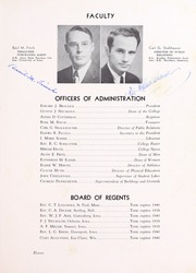 Page 15, 1938 Edition, Wartburg College - Fortress Yearbook (Waverly, IA) online yearbook collection