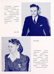 Page 11, 1942 Edition, Wartburg College - Fortress Yearbook (Waverly, IA) online yearbook collection