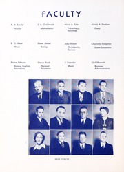 Page 16, 1942 Edition, Wartburg College - Fortress Yearbook (Waverly, IA) online yearbook collection