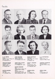 Page 15, 1950 Edition, Wartburg College - Fortress Yearbook (Waverly, IA) online yearbook collection