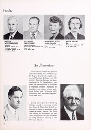 Page 17, 1950 Edition, Wartburg College - Fortress Yearbook (Waverly, IA) online yearbook collection