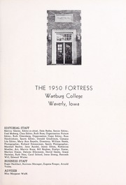 Page 5, 1950 Edition, Wartburg College - Fortress Yearbook (Waverly, IA) online yearbook collection
