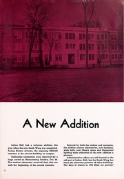 Page 11, 1952 Edition, Wartburg College - Fortress Yearbook (Waverly, IA) online yearbook collection