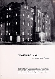 Page 13, 1952 Edition, Wartburg College - Fortress Yearbook (Waverly, IA) online yearbook collection