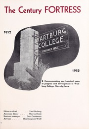Page 5, 1952 Edition, Wartburg College - Fortress Yearbook (Waverly, IA) online yearbook collection