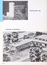 Page 10, 1956 Edition, Wartburg College - Fortress Yearbook (Waverly, IA) online yearbook collection