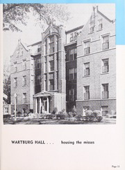 Page 15, 1956 Edition, Wartburg College - Fortress Yearbook (Waverly, IA) online yearbook collection