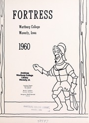 Page 5, 1960 Edition, Wartburg College - Fortress Yearbook (Waverly, IA) online yearbook collection