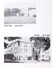 Page 10, 1963 Edition, Wartburg College - Fortress Yearbook (Waverly, IA) online yearbook collection
