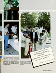 Page 17, 1986 Edition, Wartburg College - Fortress Yearbook (Waverly, IA) online yearbook collection