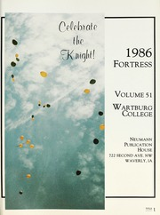 Page 5, 1986 Edition, Wartburg College - Fortress Yearbook (Waverly, IA) online yearbook collection