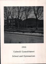 Page 7, 1953 Edition, Colwell High School - Panther Tales Yearbook (Colwell, IA) online yearbook collection