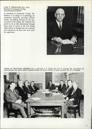 Page 13, 1966 Edition, Fort Dodge Community College - Panther Yearbook (Fort Dodge, IA) online yearbook collection
