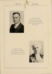 Page 16, 1919 Edition, Iowa Wesleyan College - Croaker Yearbook (Mount Pleasant, IA) online yearbook collection