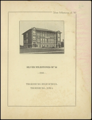Page 3, 1946 Edition, Thornburg High School - Orange and Black Yearbook (Thornburg, IA) online yearbook collection