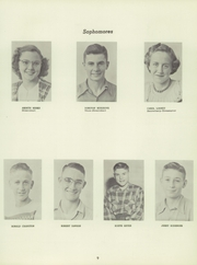 Page 13, 1951 Edition, Thornburg High School - Orange and Black Yearbook (Thornburg, IA) online yearbook collection