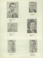 Page 6, 1951 Edition, Thornburg High School - Orange and Black Yearbook (Thornburg, IA) online yearbook collection