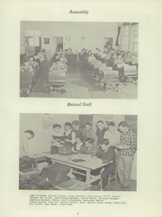 Page 7, 1951 Edition, Thornburg High School - Orange and Black Yearbook (Thornburg, IA) online yearbook collection